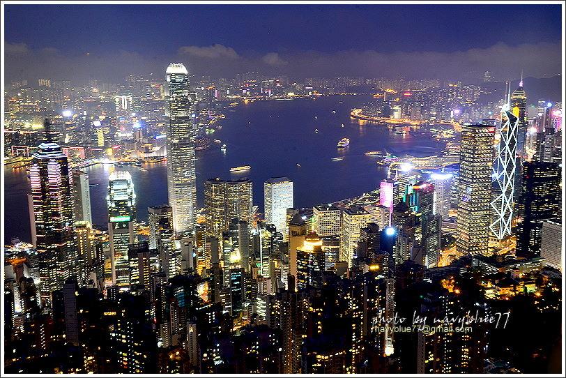 香港太平山夜景12