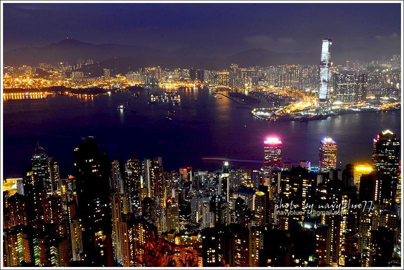 香港太平山夜景14