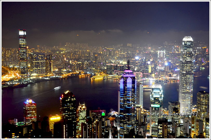 香港太平山夜景15