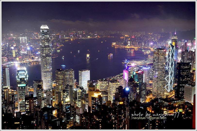 香港太平山夜景17