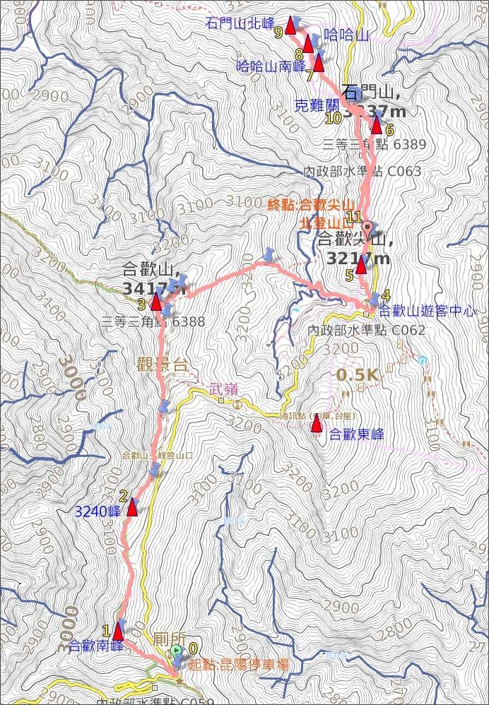 合歡山石門山哈哈山map.JPG