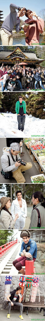2012年5月Nadech Sudsapda雜誌拍攝幕後花絮照組圖