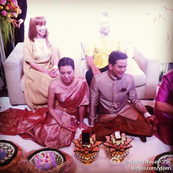 Nadech參加Poh哥的婚禮