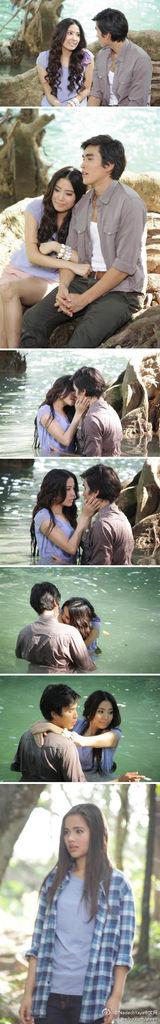 Nadech Yaya愛土之爭7月27日(本週五)第13集即將播出Nee目睹Toon親吻Athit的戲份。
