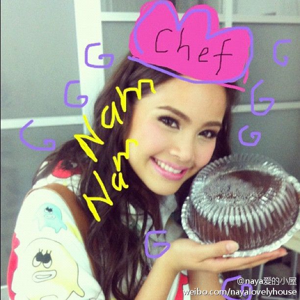 Yaya2012-08-09更新IG: I baked a cake