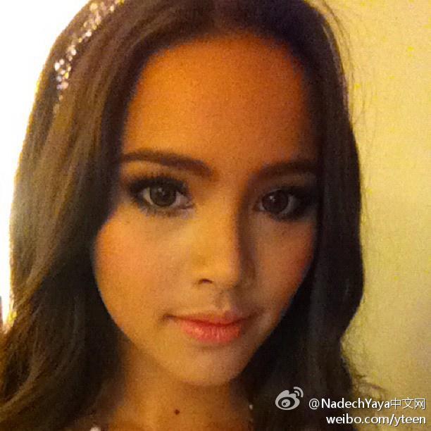 Yaya2012-08-28更新IG, Sweet dreams na ka 小美女,晚安啦!