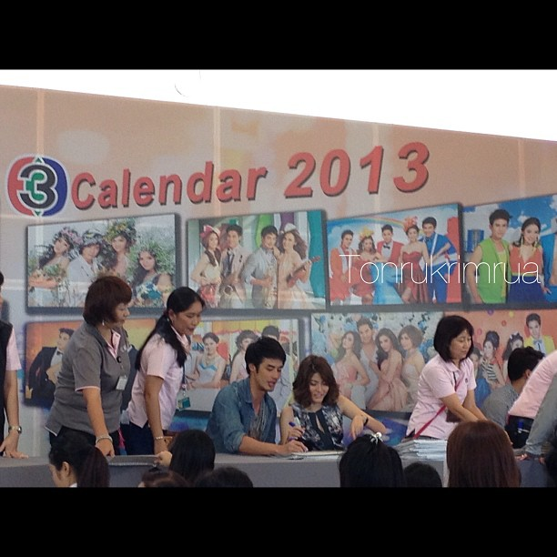 CH3Calendar2013簽名會│2012-11-29至30日簽名會 Part2