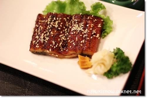 薄燒鰻魚套餐主菜