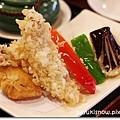 炸蝦天套餐主菜