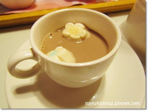 棉花糖+巧克力