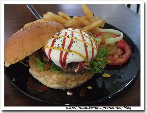 經典夏威夷漢堡