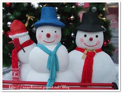 裡面的可愛雪人^^