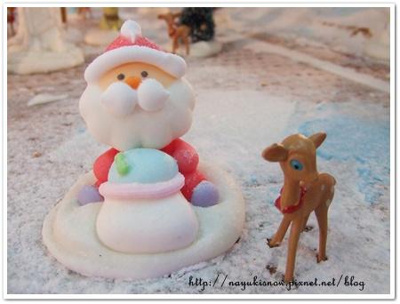 聖誕老公公和小鹿