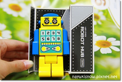 是USB機器人