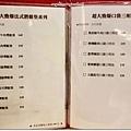 潛艇堡、口袋三明治menu