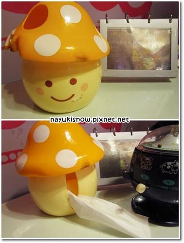 香菇衛生紙盒