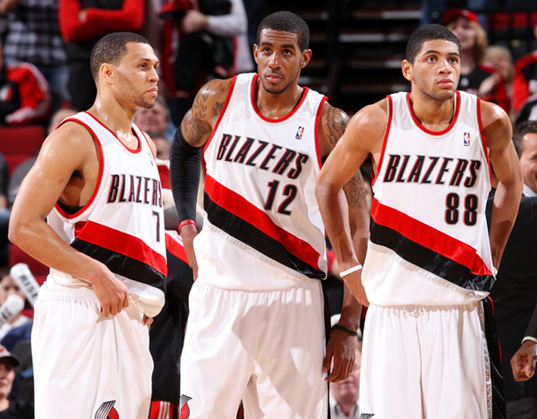 Brandon Roy, LaMarcus Aldridge and Nicolas Batum.jpg