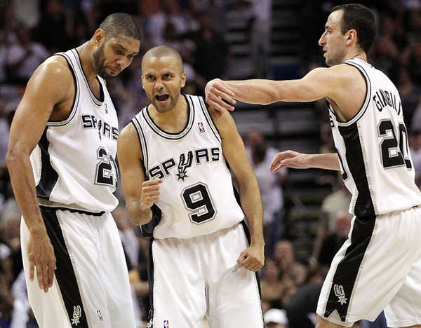 Tim Duncan, Tony Parker and Manu Ginobili.jpg