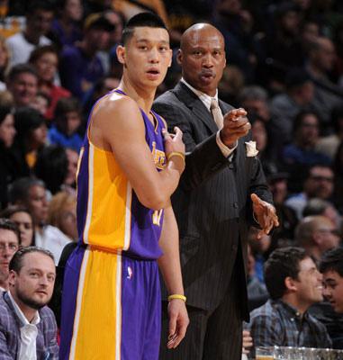NBA季後賽湖人主帥史考特:林書豪不穩定因缺自信!