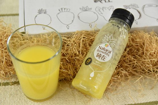 消暑飲料推薦純在鳳梨冷壓蔬果汁
