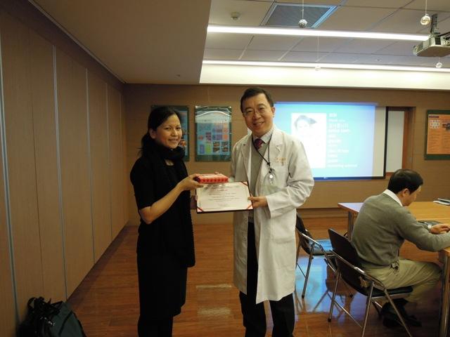 Dr. Faye與陳國鼎主任MAR10