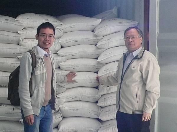 農糧署糧食產業組副組長許良吉