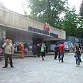 地鐵站入口