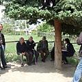 與村落居民訪談