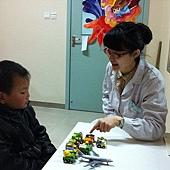 郭子豪语言治疗结束后复诊