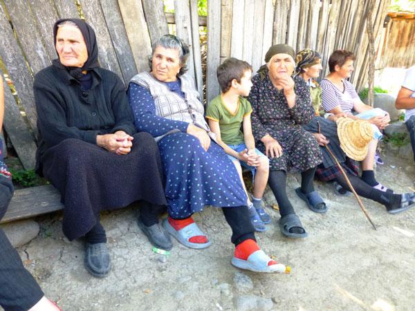 村落裡婦女的社交地點