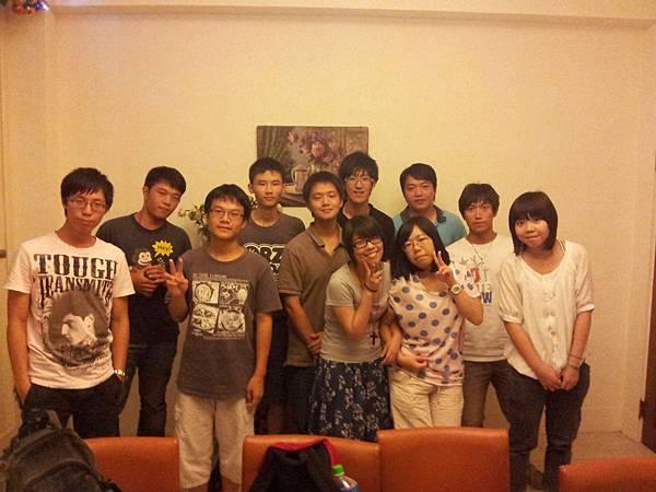 20110915聚餐合照