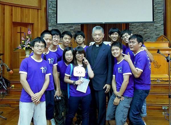 2012-8-5羅東教會獻詩