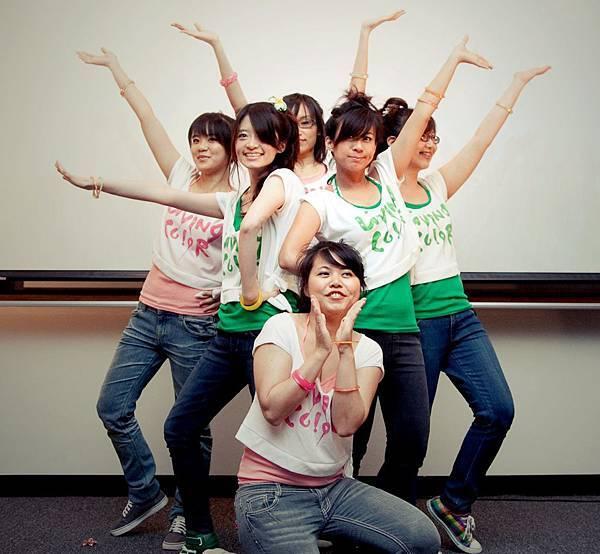 閉幕舞的ending pose