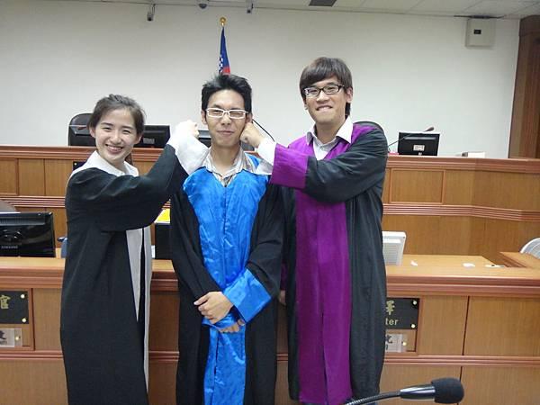 本次法庭演練的審檢辯合照