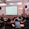 臺中一中科學班林宗徽班導師說明學生學習情形