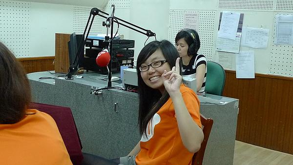 20100613 至中央廣播電台受訪-別人受訪的時候才笑得出來