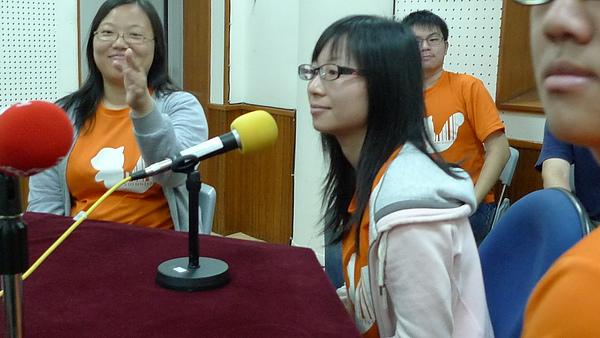 20100613 至中央廣播電台受訪- 很有大將之風的小羊
