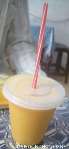 20080516_蒸餃子南瓜牛奶30元