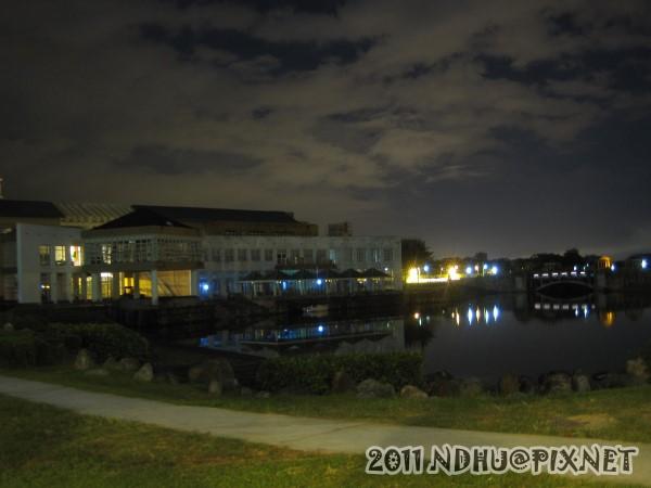 20110611_畢業典禮-夜景-湖畔