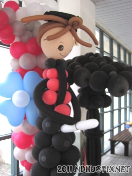 20110611_畢業典禮-造型氣球