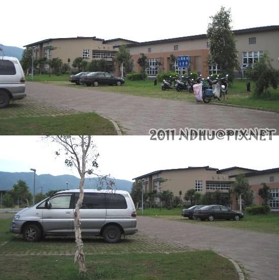 20110918_夜間停車場遷移(原民院及環境學院之間)