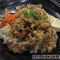20110819_丸山和食-牛丼飯70元