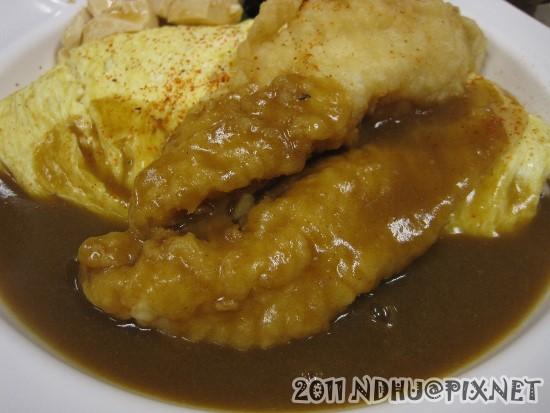 20110831_丸山和食-美人魚蛋包飯(醬換咖哩)80元