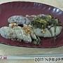 20111001_張家香腸_香腸25元+糯米腸秤重(這份25元)