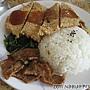 20110918_御鮮坊_香炸雞排飯70元(加蜜汁、加飯)