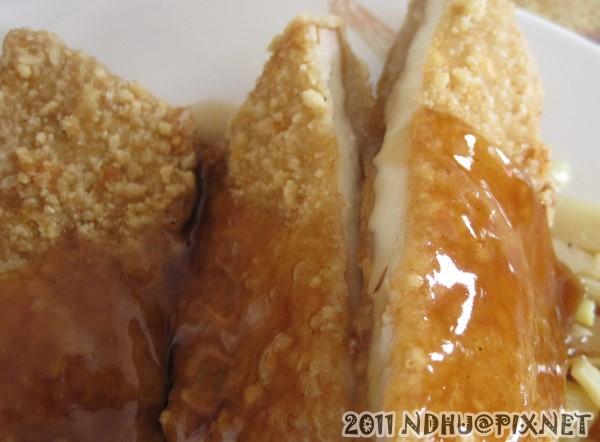 20110918_御鮮坊_雞排切面與蜜汁