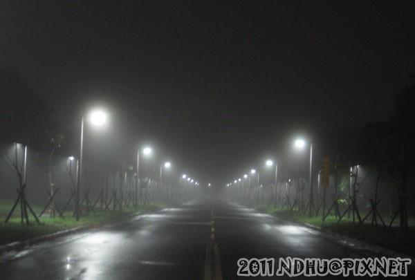 20111113_內環道往六期宿舍道路