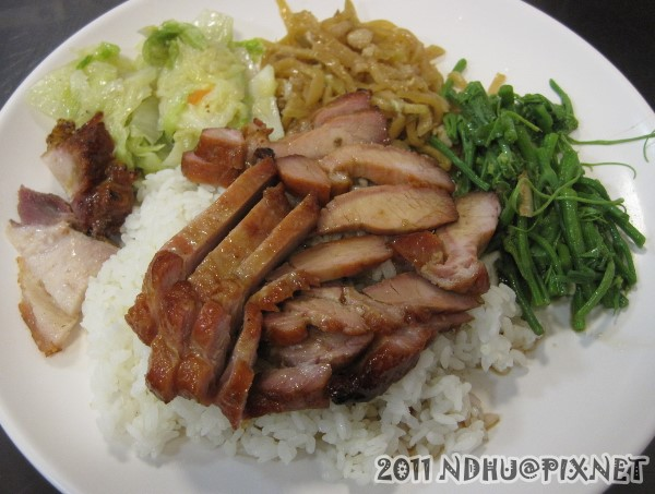 20111202_哆知味燒臘_蜜汁叉燒飯65元