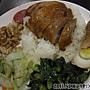 20110408_哆知味燒臘_玫瑰油雞腿飯75元