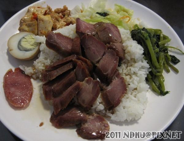 20110601_哆知味燒臘_蜜汁叉燒飯65元